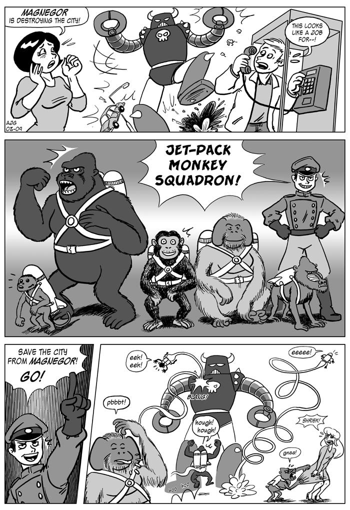 Jet-Pack Monkey Squadron