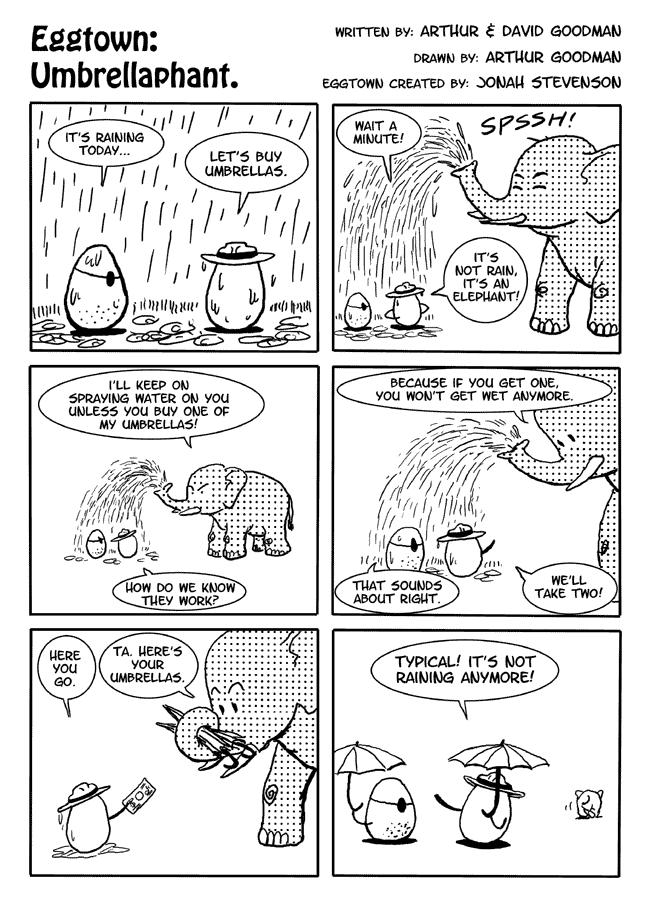 Eggtown: Umbrellaphant