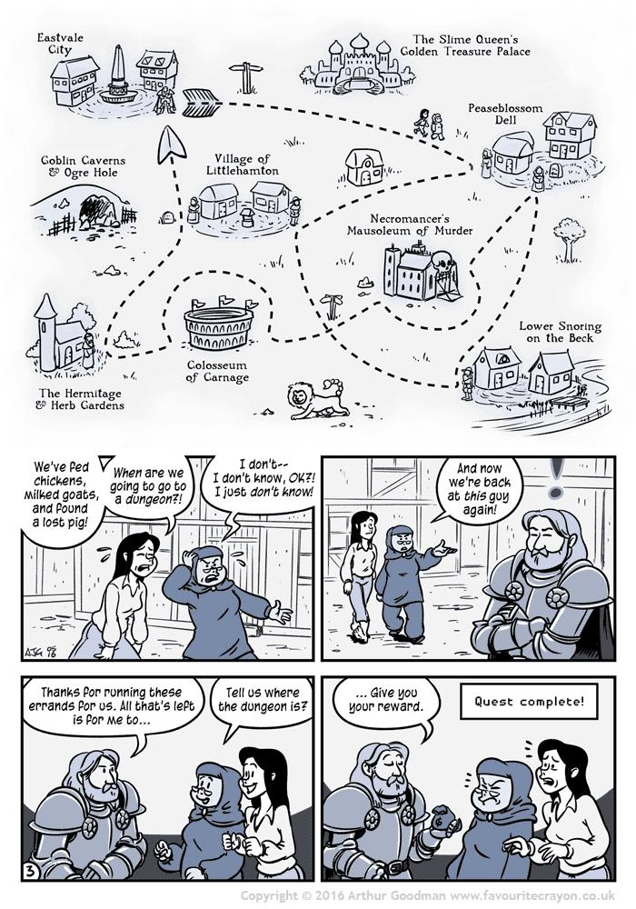 The Pursuit of Princess Prettyponycorn, Part 3