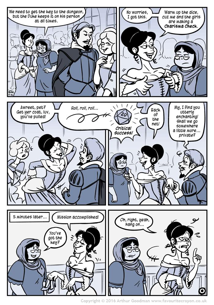 Charisma Check
