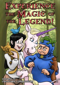 Experience the Magic of the Legend! Volume 3 Cover